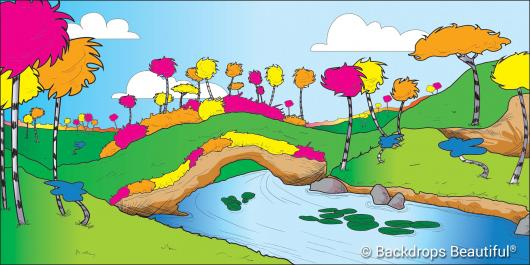 Backdrops: Seussical 2