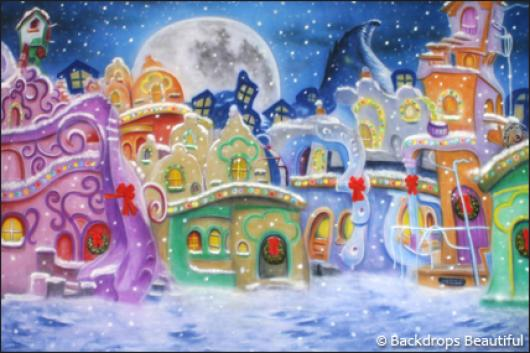 Backdrops: Whoville 1