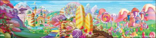 Backdrops: Candyland 5 Panel
