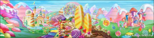Backdrops: Candyland 3B