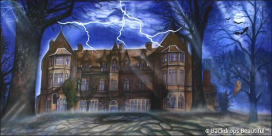 Backdrops: Haunted Mansion 2
