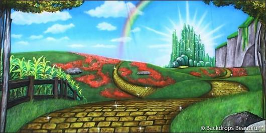 Backdrops: Wizard of Oz 1A