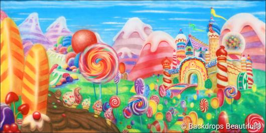 Backdrops: Candyland 4