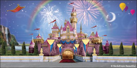 Castle Photography Backdrop Backdrops Fantasy Castle 3