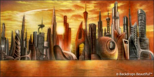 Backdrops: Future City
