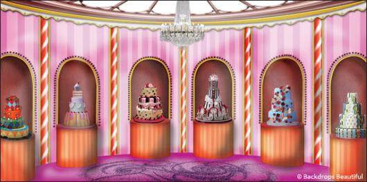 Backdrops: Candy Castle Interior 2