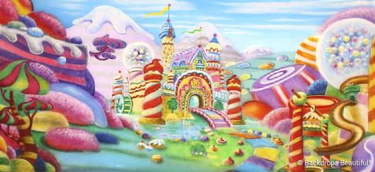 Backdrops: Candyland 1D
