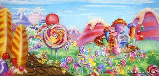 Backdrops: Candyland 2D