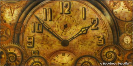 Backdrops: Clocks 1B