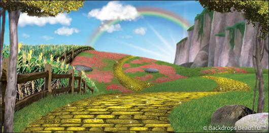 Backdrops: Wizard of Oz 8
