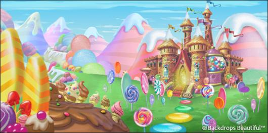Backdrops: Candyland 10