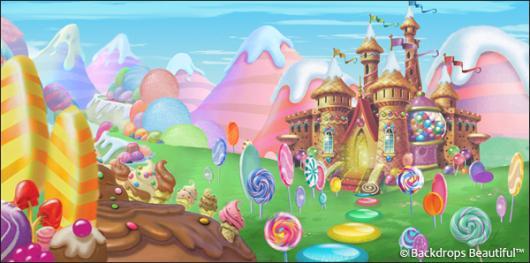 Backdrops: Candyland 10