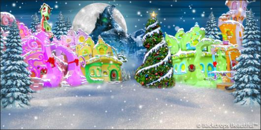 Backdrops: Whoville 4 Tree