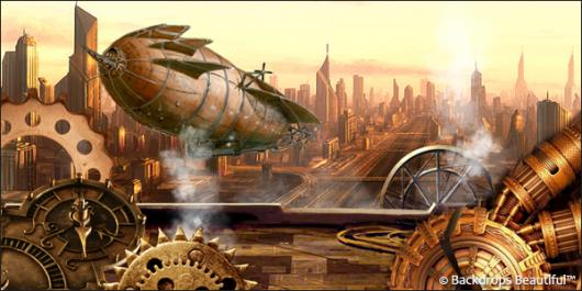 Backdrops: Steampunk 5