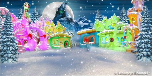 Backdrops: Whoville 5