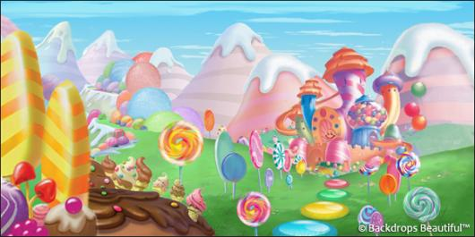 Backdrops: Candyland 2F