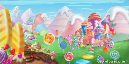 Backdrops: Candyland 2F