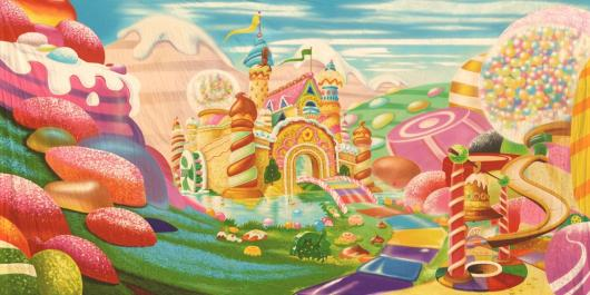 Backdrops: Candyland 1G
