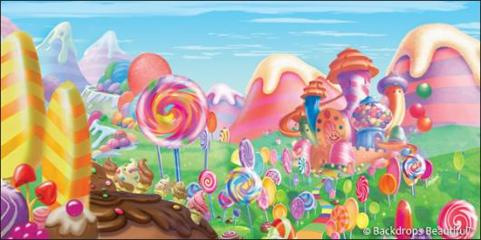 Backdrops: Candyland 2H