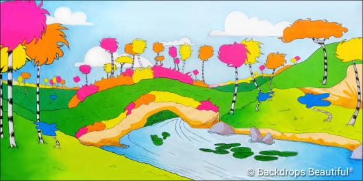 Backdrops: Seussical 1