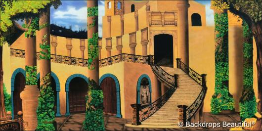 Backdrops: Castle Courtyard 3
