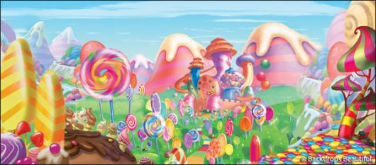 Backdrops: Candyland 7B
