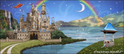 Backdrops: Fantasy Castle 8