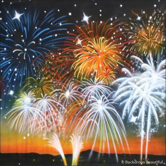 Backdrops: Fireworks Night 4