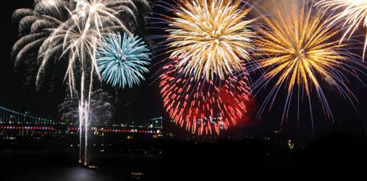 Backdrops: Fireworks Night 3