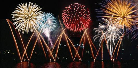 Backdrops: Fireworks Night 1