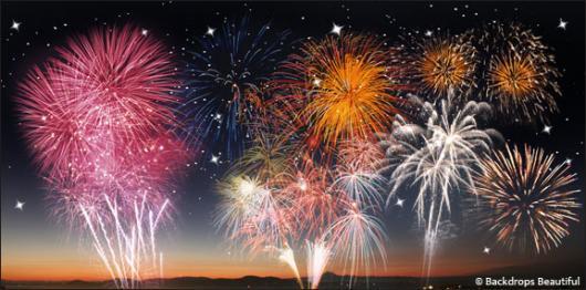Backdrops: Fireworks Night 2