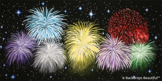 Backdrops: Fireworks Night 5