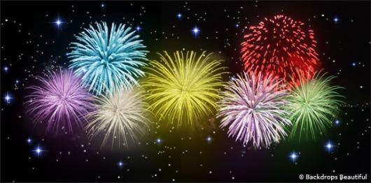 Backdrops: Fireworks Night 5B