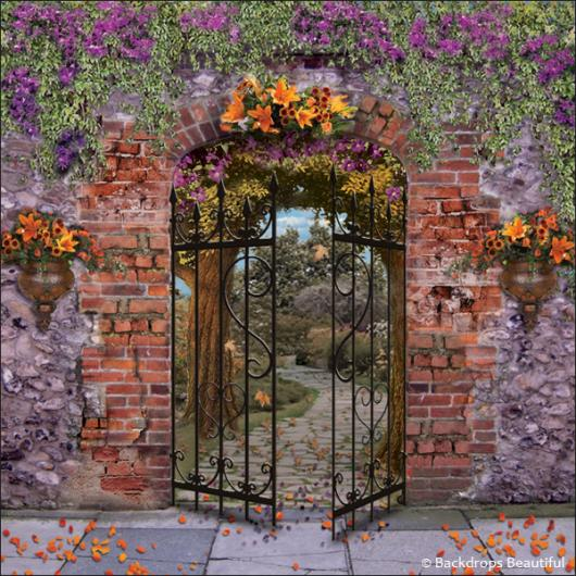Secret Garden Backdrop Backdrops Beautiful