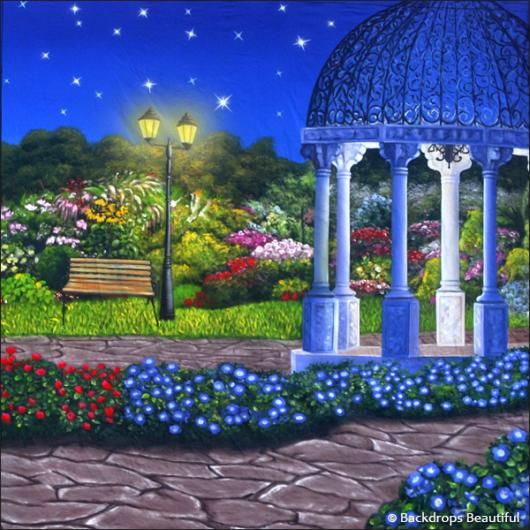 Backdrops: Garden 2 Gazebo