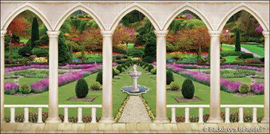 Backdrops: Elegant Garden 3