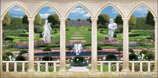 Backdrops: Elegant Garden 7