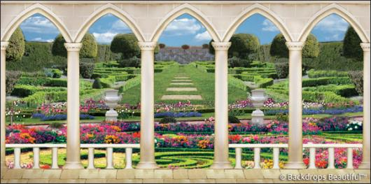 Backdrops: Elegant Garden 8