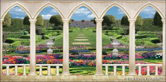 Backdrops: Elegant Garden 8