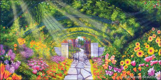 Backdrops: Secret Garden 3B