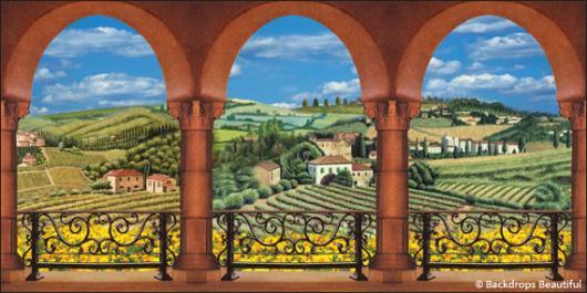 Backdrops: Elegant Garden 6B
