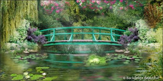 Backdrops: Pond 2 Bridge