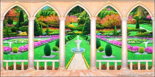 Backdrops: Elegant Garden 11