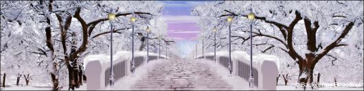 Backdrops: Walk in the Park Winter 4B