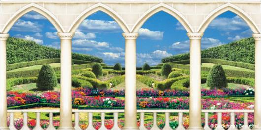Elegant Garden Backdrop 1 Backdrops Beautiful
