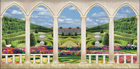 Elegant Garden Backdrop 5 Backdrops Beautiful