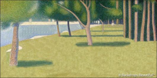 Backdrops: George Seurat 1