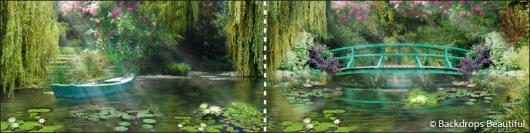 Backdrops: Pond 2 Panel