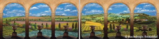 Backdrops: Elegant Garden 2 Panel