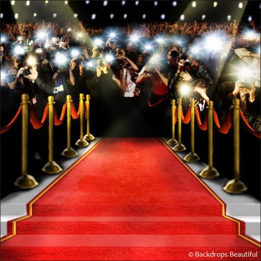 Backdrops: Paparazzi Celebrity  9B Hollywood